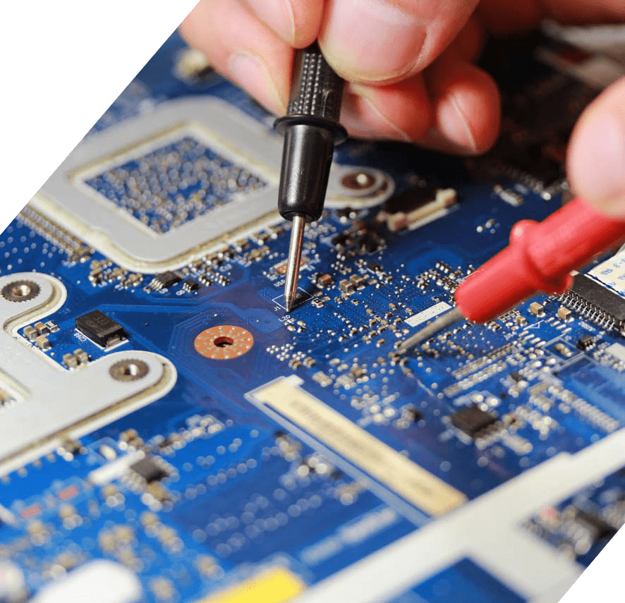 Testing PCB board with electrical tester